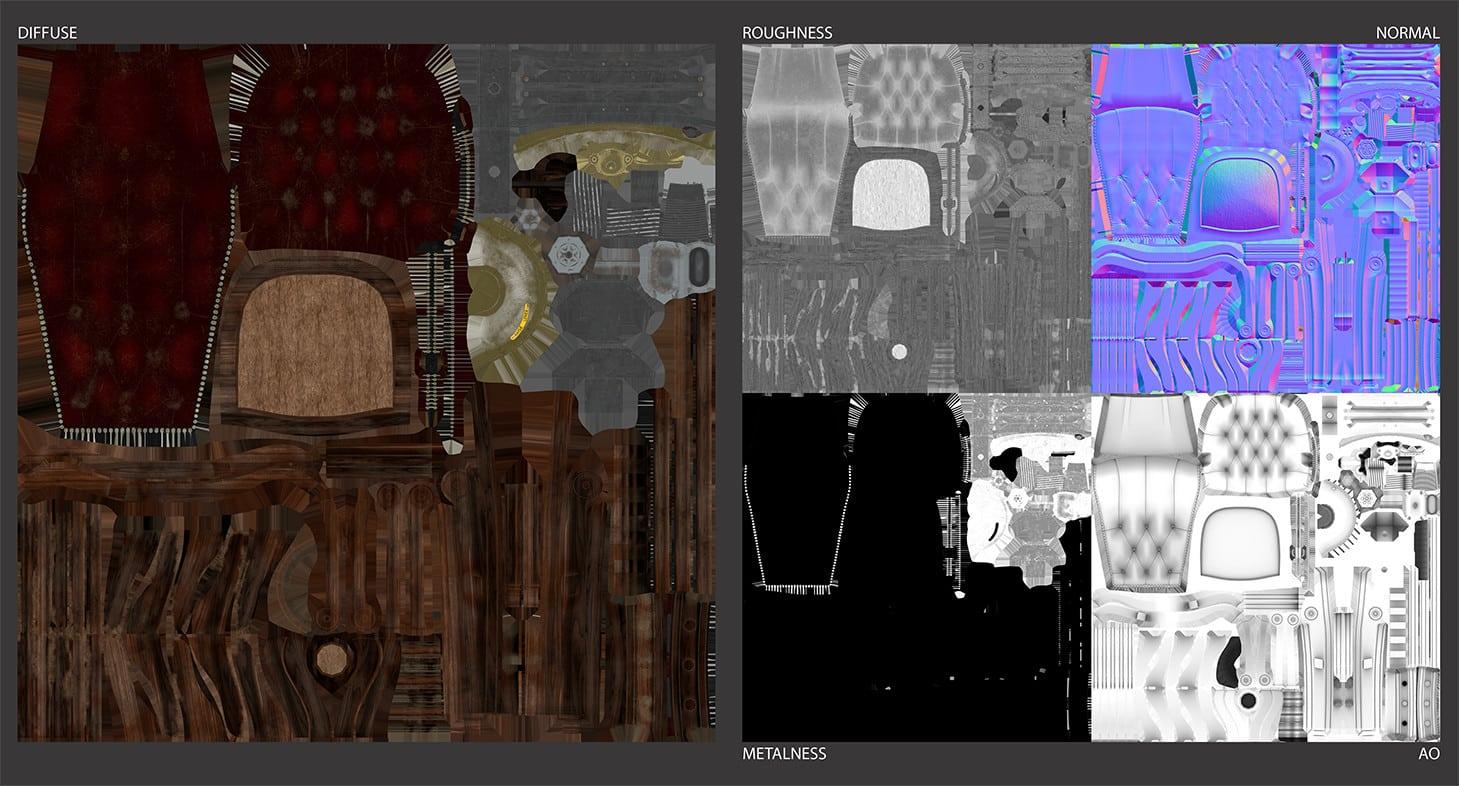 paul foster chair sheet textures 1