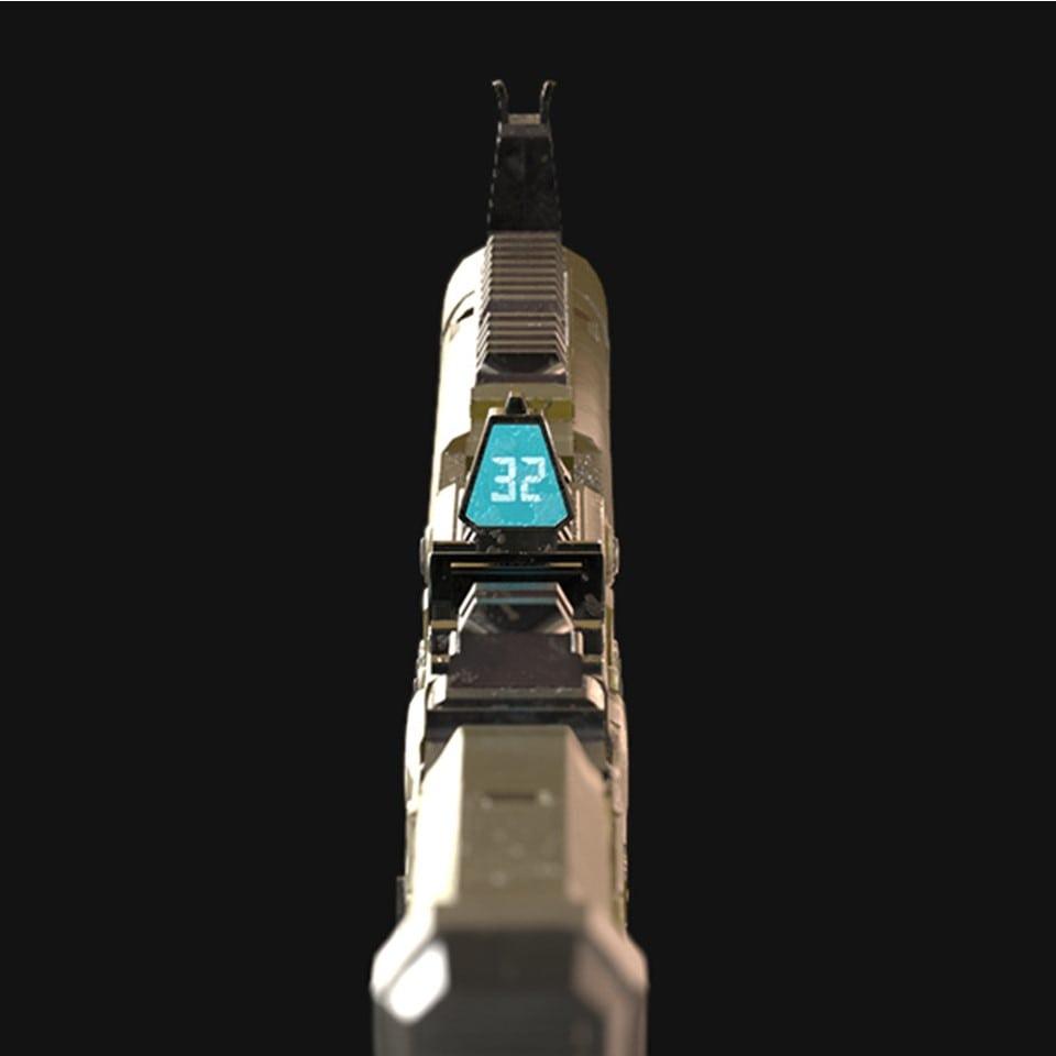 saeree chung scifi gun 002a