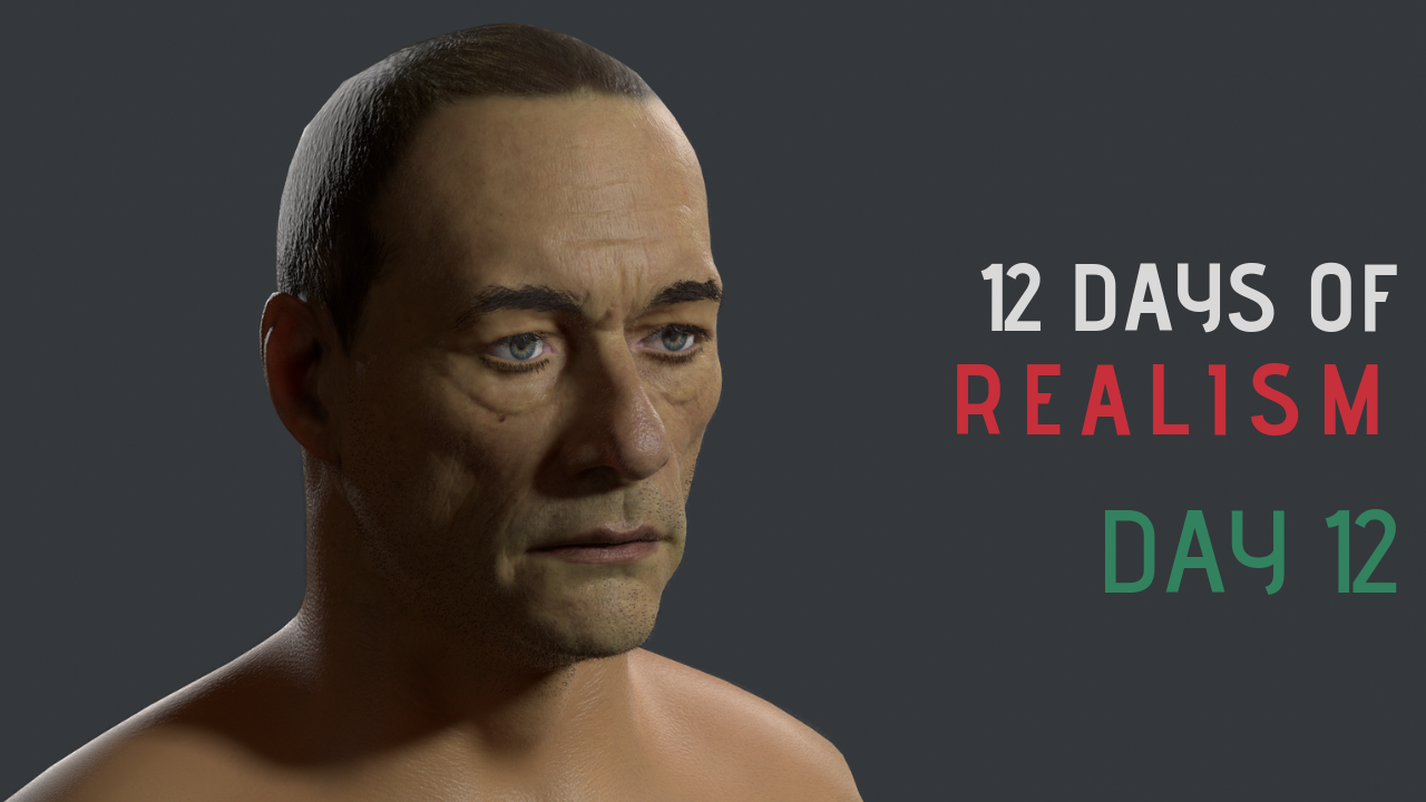 12 Days Of Realism – Day 12 – Eyes In Marmoset
