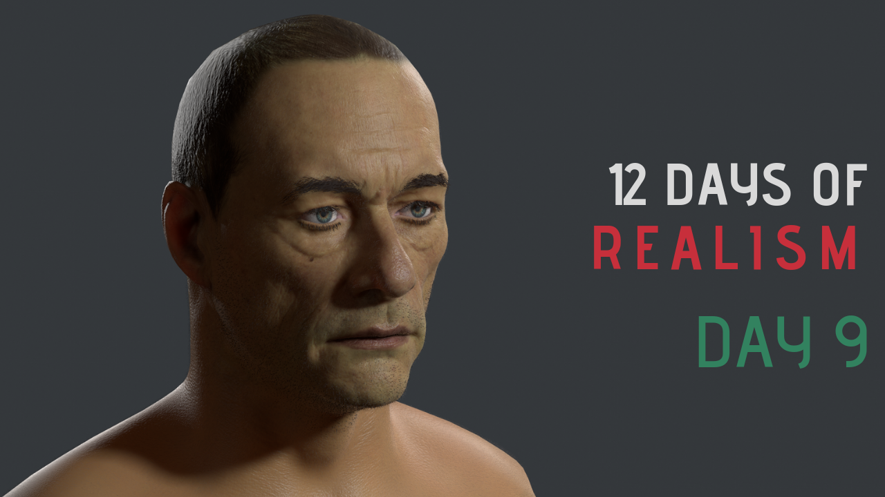 12 Days Of Realism – Day 9 – Realistic Skin
