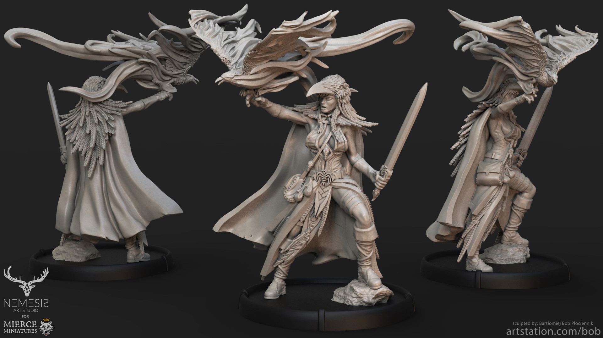 Creating 3D Printed Miniatures In ZBrush, From Start To