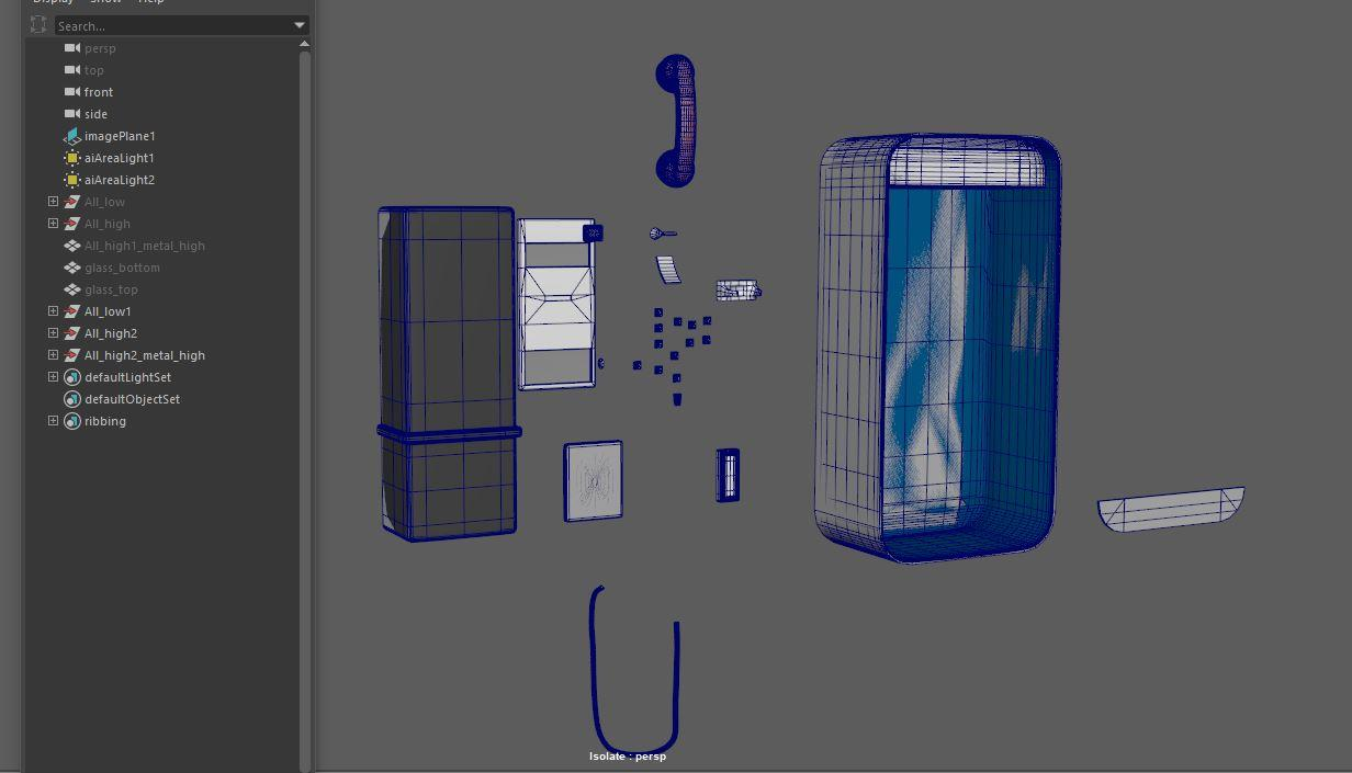 Exploded Mesh Tutorial