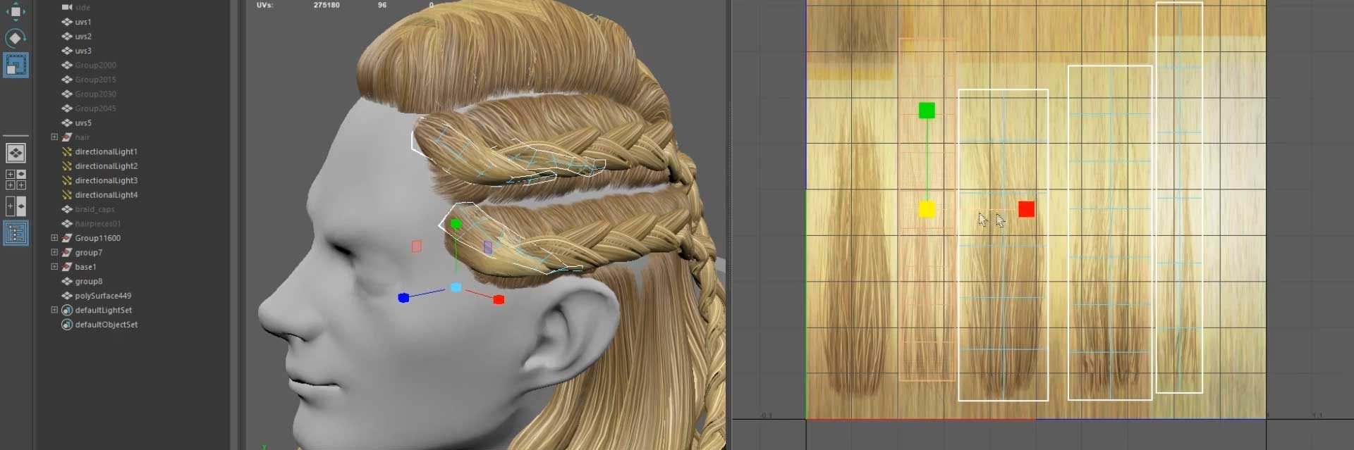 Realistic Real-Time Hair Braids