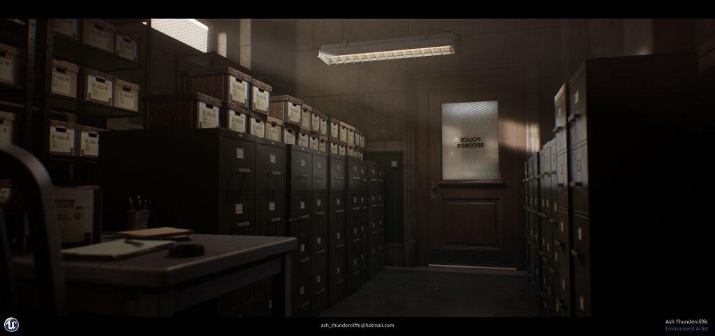 ash thundercliffe gotham records room 1
