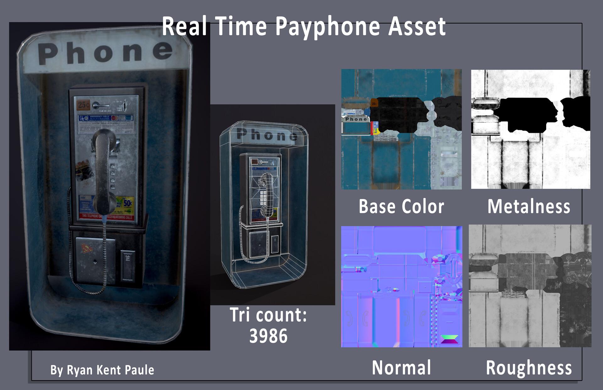 ryan paule payphone call sheet