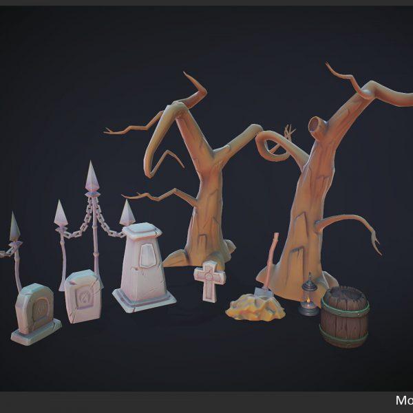 monica bauer graveyard assets