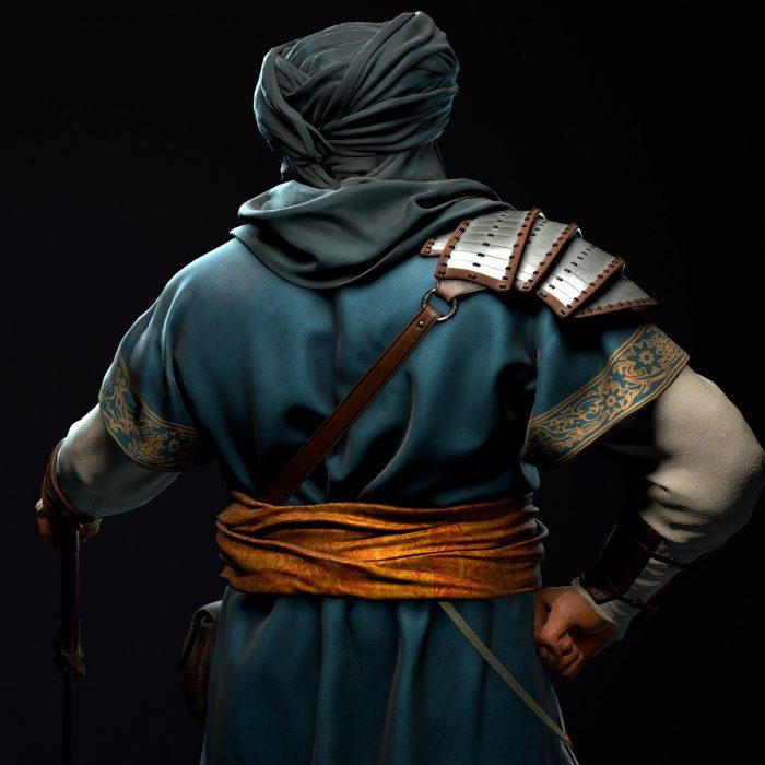 Photo of Otto Metzger's Arabian Warrior