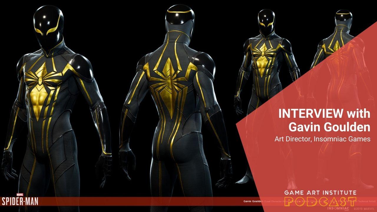 Episode 98: Gavin Goulden, Art Director @ Insomniac Games